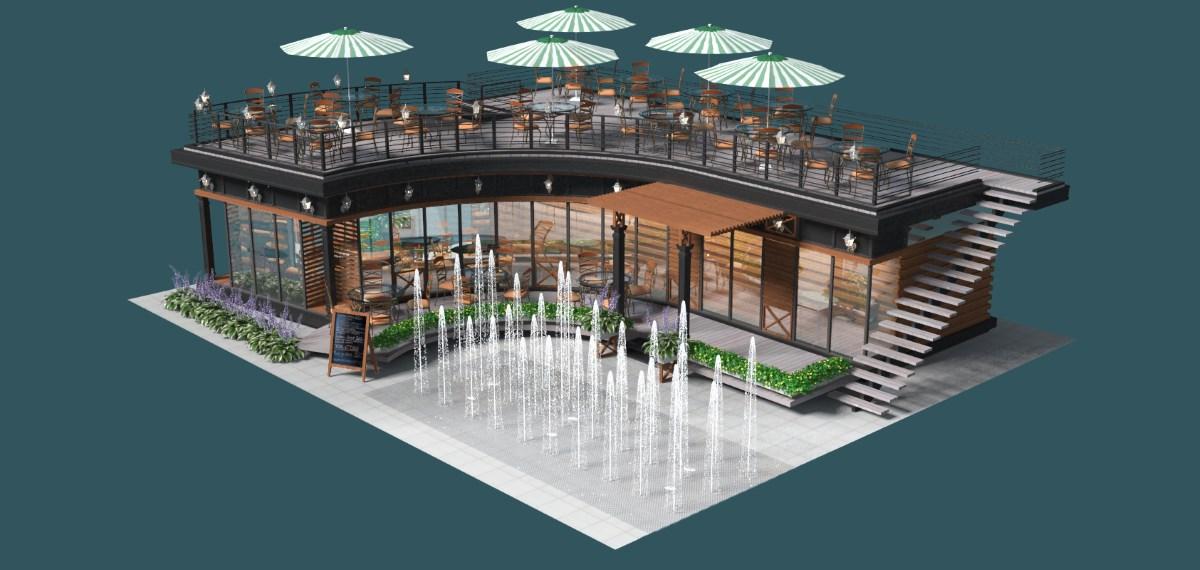 кафе построить в Махмутларе
